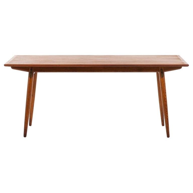 Hans Wegner Dining Table Model JH-570 by Johannes Hansen in Denmark For Sale