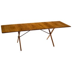 Hans Wegner Drop-Leaf Dining Table Model AT-309, Denmark, 1950s