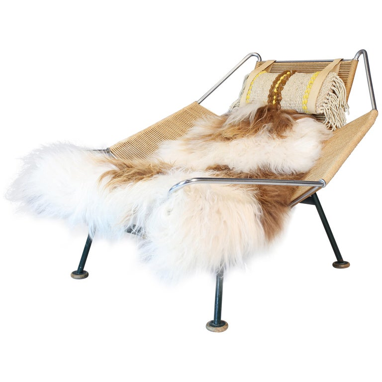 Hans Wegner, Early Flag Halyard Chair, GE 225 For Sale
