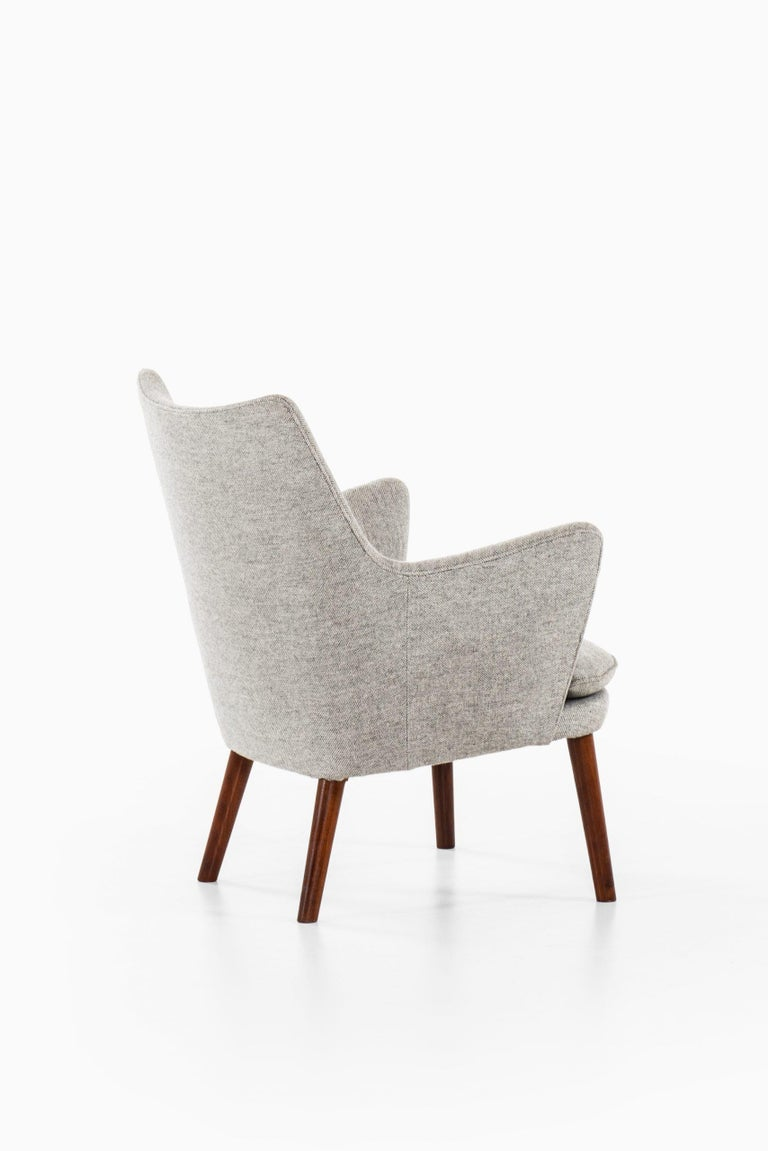 Hans Wegner Easy Chairs Model AP20 Produced by A.P. Stolen in Denmark For Sale 3