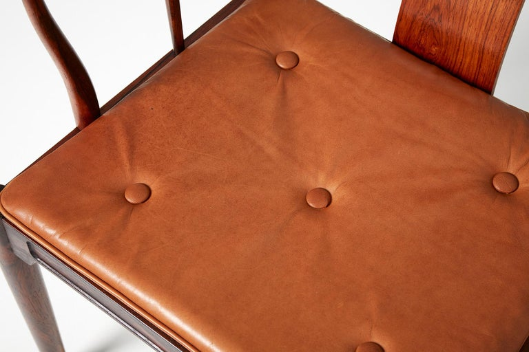 Hans Wegner FH-4283 Rosewood China Chair For Sale 4