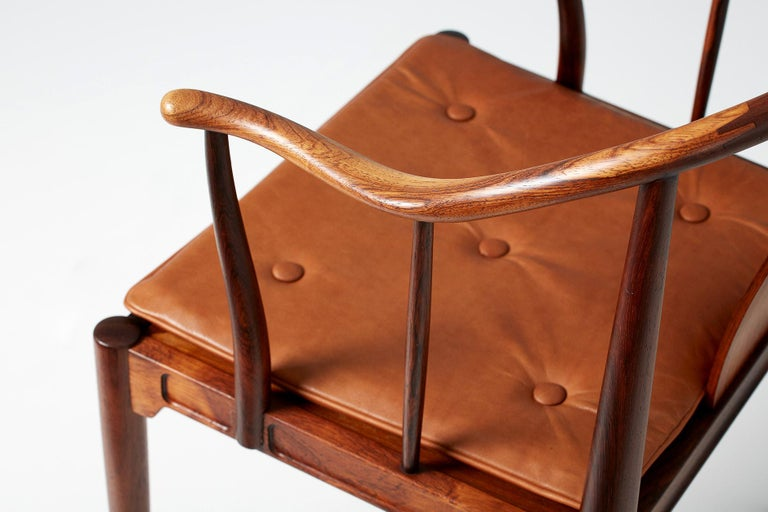 Hans Wegner FH-4283 Rosewood China Chair For Sale 5