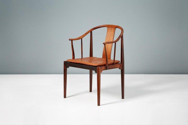 Danish Hans Wegner FH-4283 Rosewood China Chair