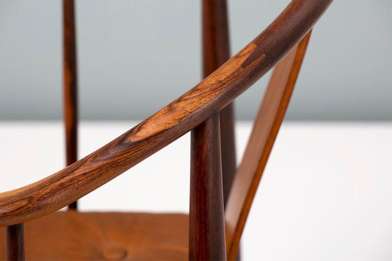 Mid-20th Century Hans Wegner FH-4283 Rosewood China Chair