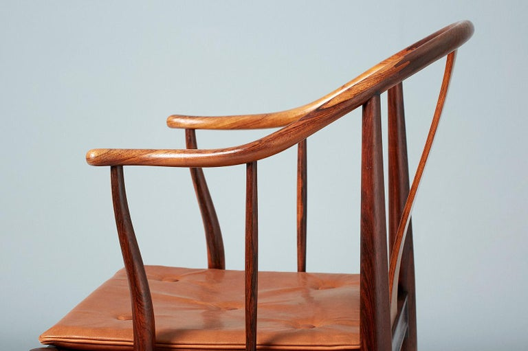 Hans Wegner FH-4283 Rosewood China Chair For Sale 1