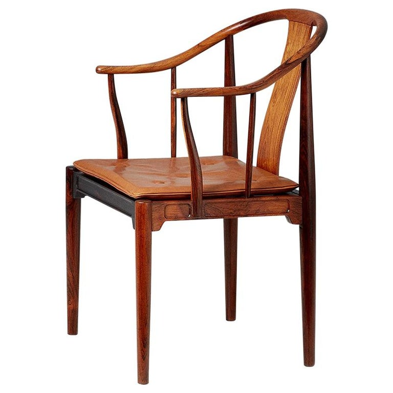 Hans Wegner FH-4283 Rosewood China Chair For Sale