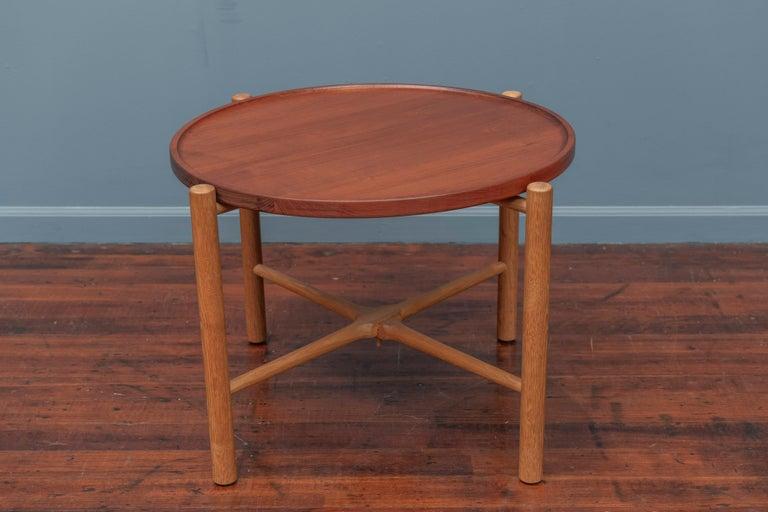 Scandinavian Modern Hans Wegner Flip Top Table for Andreas Tuck For Sale