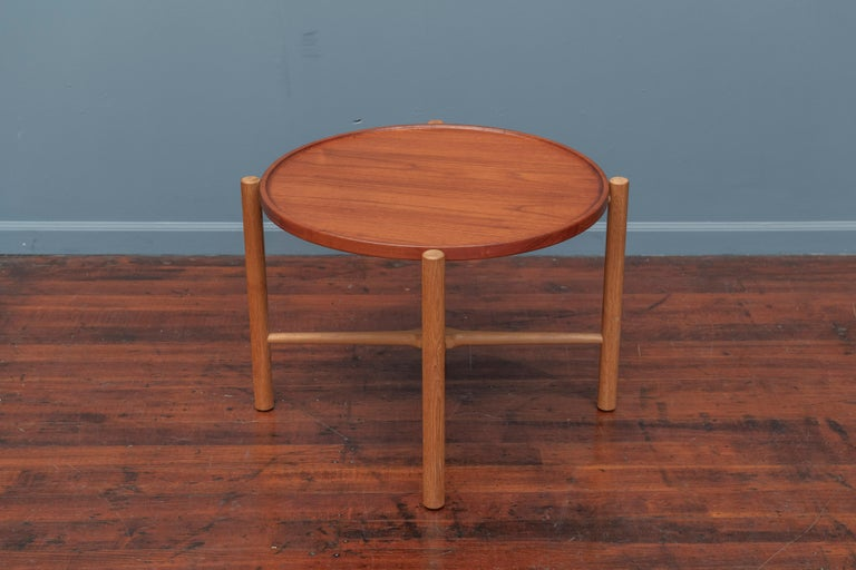 Hans Wegner Flip Top Table for Andreas Tuck In Good Condition For Sale In San Francisco, CA