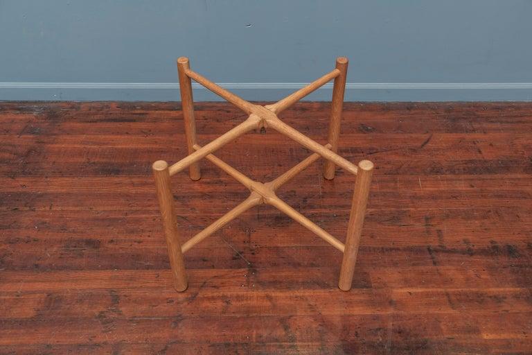 Oak Hans Wegner Flip Top Table for Andreas Tuck For Sale