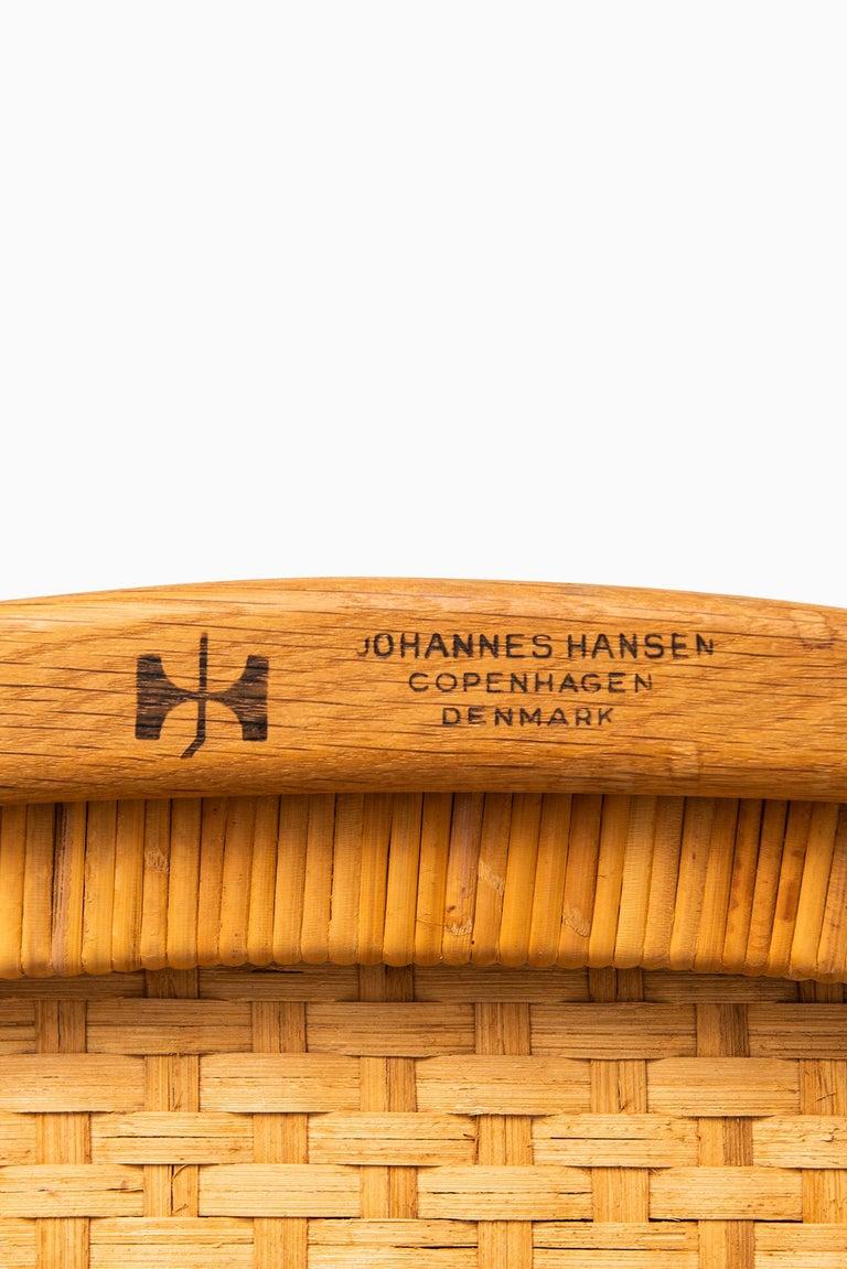 Hans Wegner Folding Chair Model JH512 by Johannes Hansen in Denmark 5