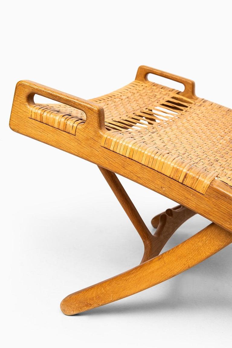 Hans Wegner Folding Chair Model JH512 by Johannes Hansen in Denmark In Excellent Condition In Malmo, SE