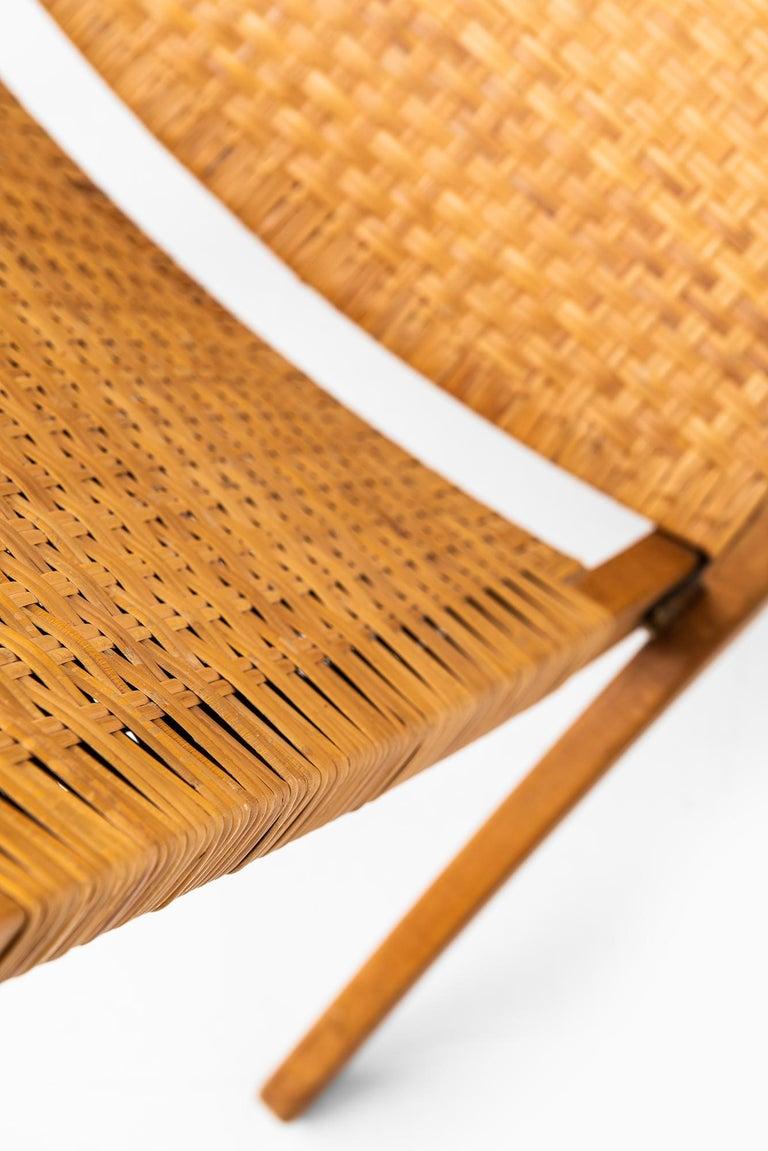 Mid-20th Century Hans Wegner Folding Chair Model JH512 by Johannes Hansen in Denmark