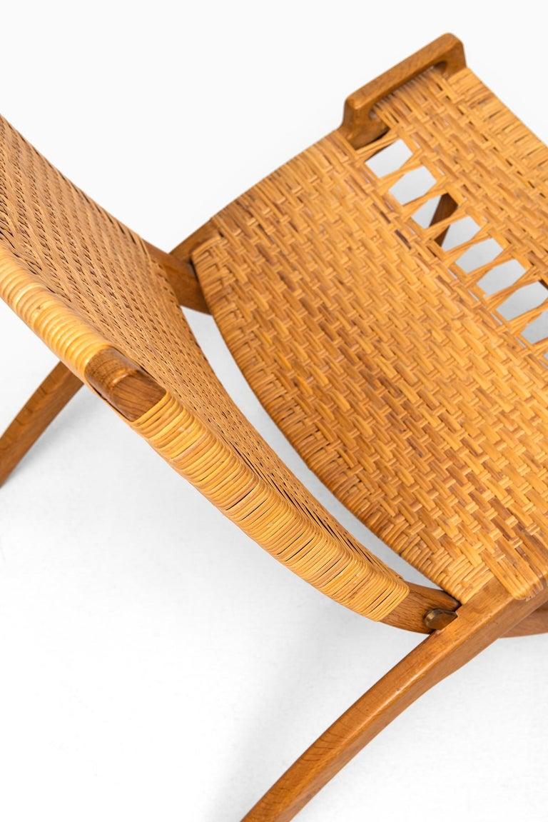 Hans Wegner Folding Chair Model JH512 by Johannes Hansen in Denmark 2