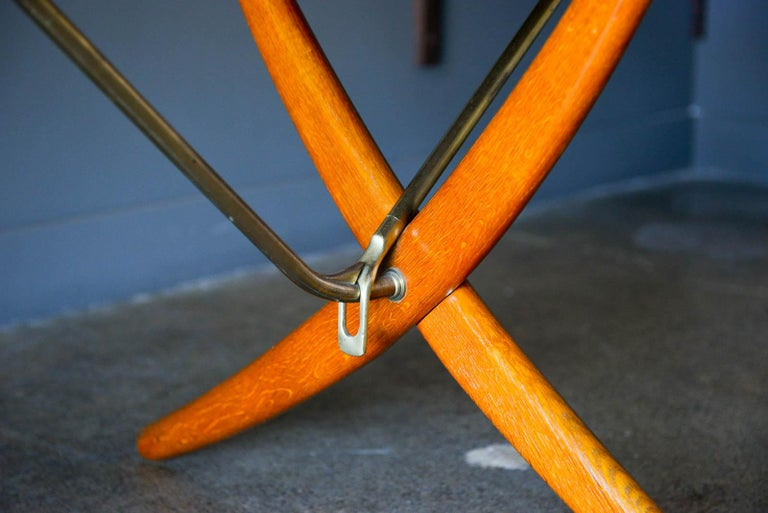 Hans Wegner for Andreas Tuck Model AT-304 Dining Table, circa 1955 For Sale 4