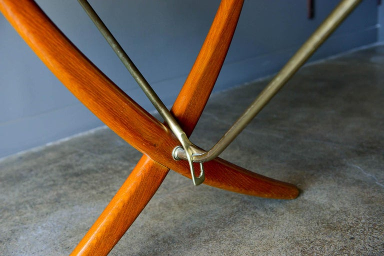 Hans Wegner for Andreas Tuck Model AT-304 Dining Table, circa 1955 For Sale 5