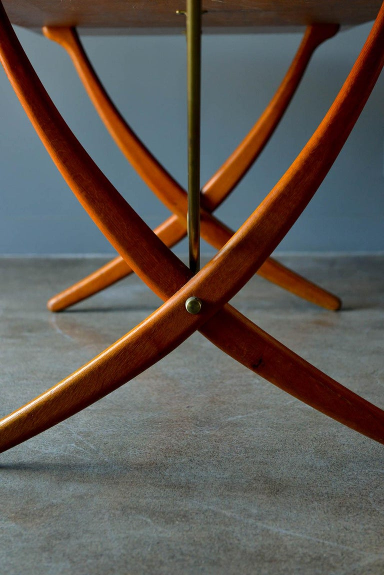Hans Wegner for Andreas Tuck Model AT-304 Dining Table, circa 1955 For Sale 1
