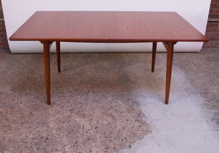 Hans Wegner for Andreas Tuck Teak Extension Dining Table For Sale 7