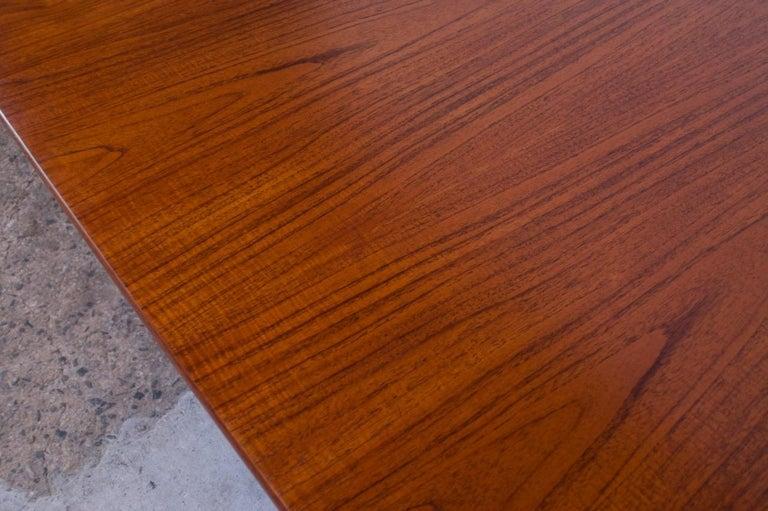 Hans Wegner for Andreas Tuck Teak Extension Dining Table For Sale 11