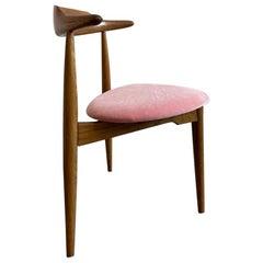 Hans Wegner for Fritz Hansen Three Legged Heart Chair