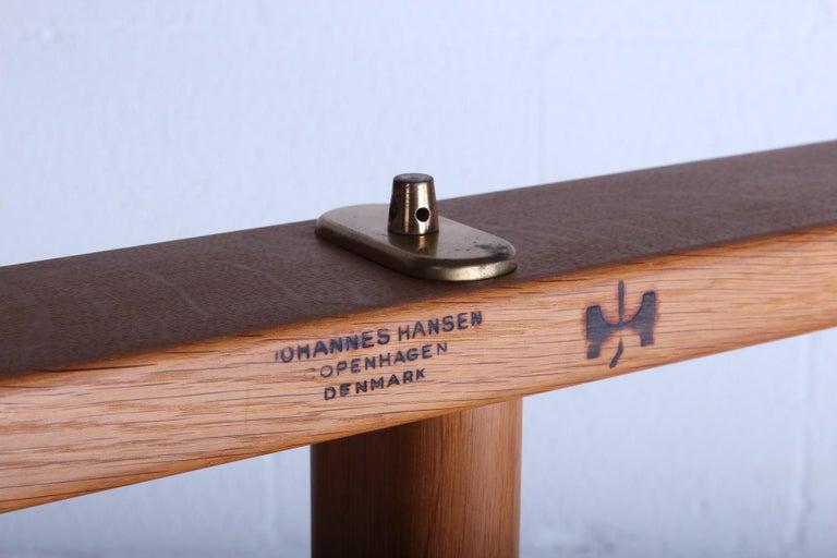 Hans Wegner for Johannes Hansen Reversible Top Coffee Table For Sale 6