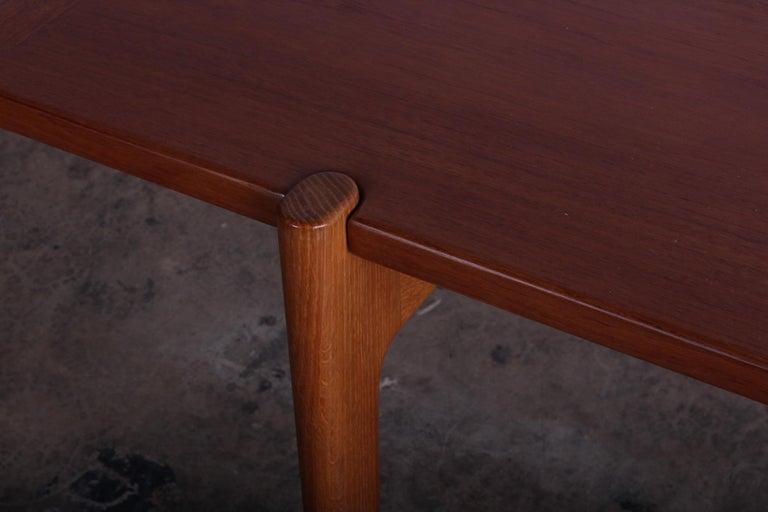 Mid-20th Century Hans Wegner for Johannes Hansen Reversible Top Coffee Table For Sale