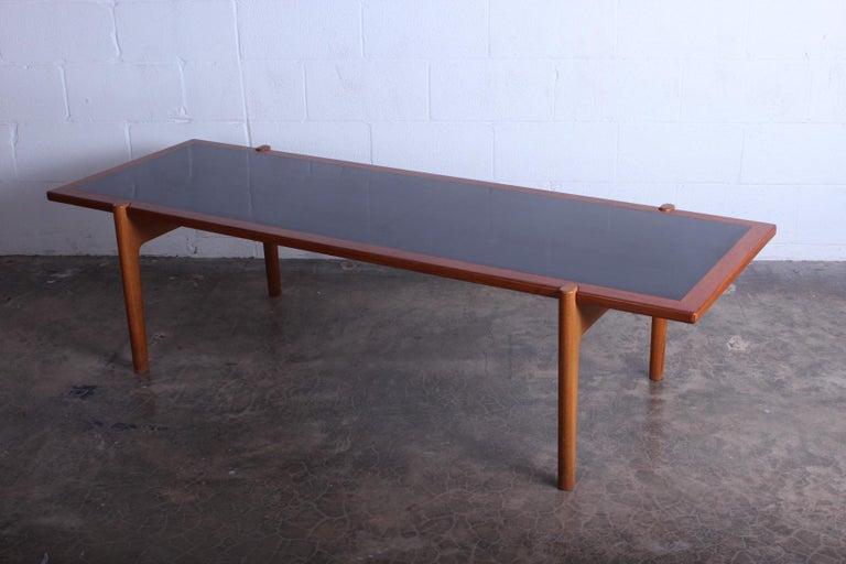 Hans Wegner for Johannes Hansen Reversible Top Coffee Table For Sale 2
