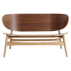 Hans Wegner GE-1935 Bench - Lacquered Walnut