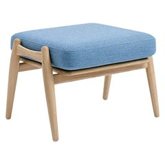 Hans Wegner GE-24S Footstool, Stained Oak