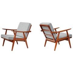 Hans Wegner GE-270 Chairs, Teak