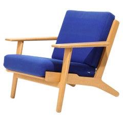 """Hans Wegner """"GE 290"""" Oak Easy Chair"""