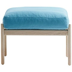 Hans Wegner GE-290s Footstool, Stained Beech