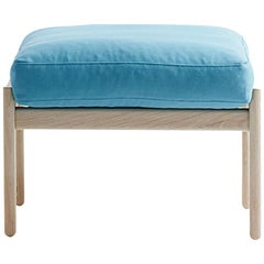 Hans Wegner GE-290S Footstool, Stained Oak