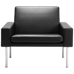 Hans Wegner GE-34 Lounge Chair, Oak