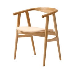 Hans Wegner GE-525 Dining Chair, Lacquered Oak