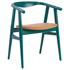 Hans Wegner GE-525 Dining Chair, Stained Beech