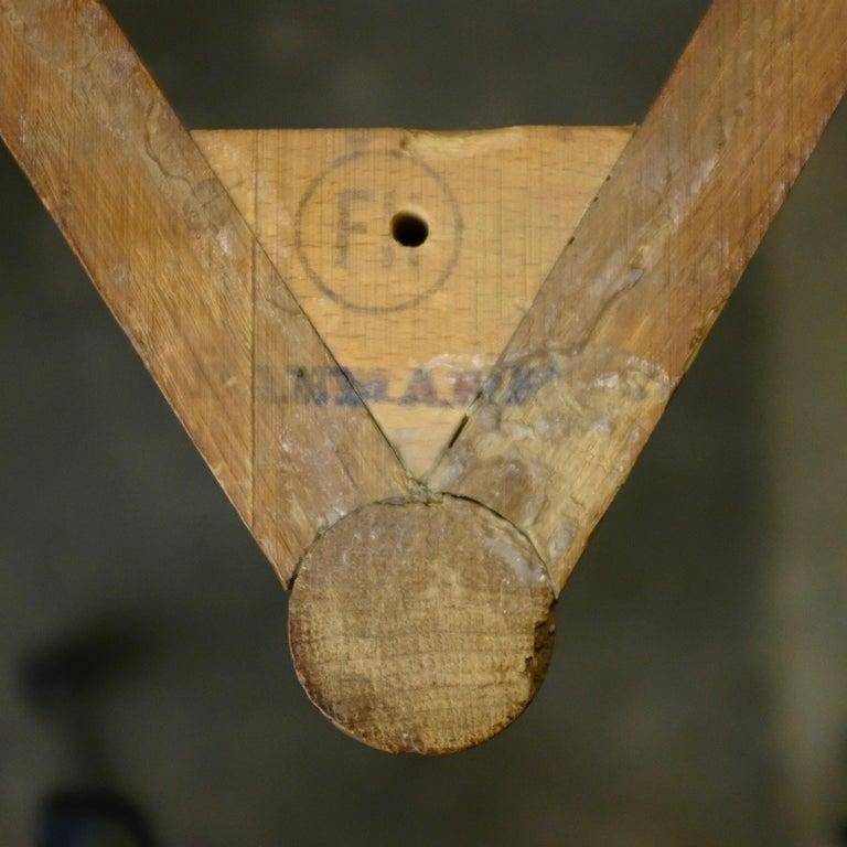 Hans Wegner Heart Chair in Oak For Sale 2