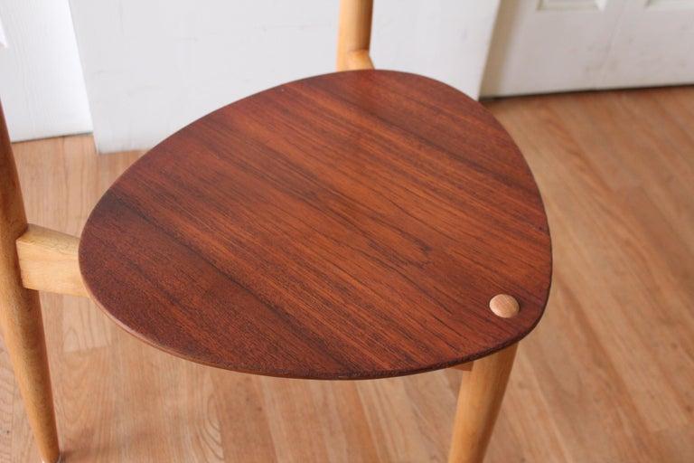 Hans Wegner Heart Chairs For Sale 3