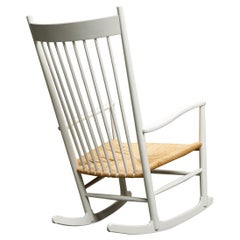 Hans Wegner 'J-16' Rocking Chair for Fredericia, Signed & Dated