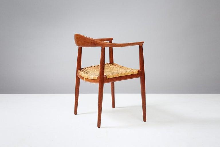 Scandinavian Modern Hans Wegner JH-501 Chair, Teak For Sale