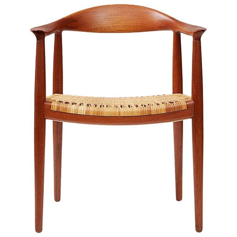 Hans Wegner JH-501 Chair, Teak For Sale