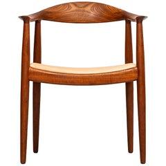 Hans Wegner JH-501 / The Chair by Johannes Hansen in Denmark
