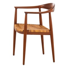 Hans Wegner JH-501, the Chair Produced by Johannes Hansen in Denmark