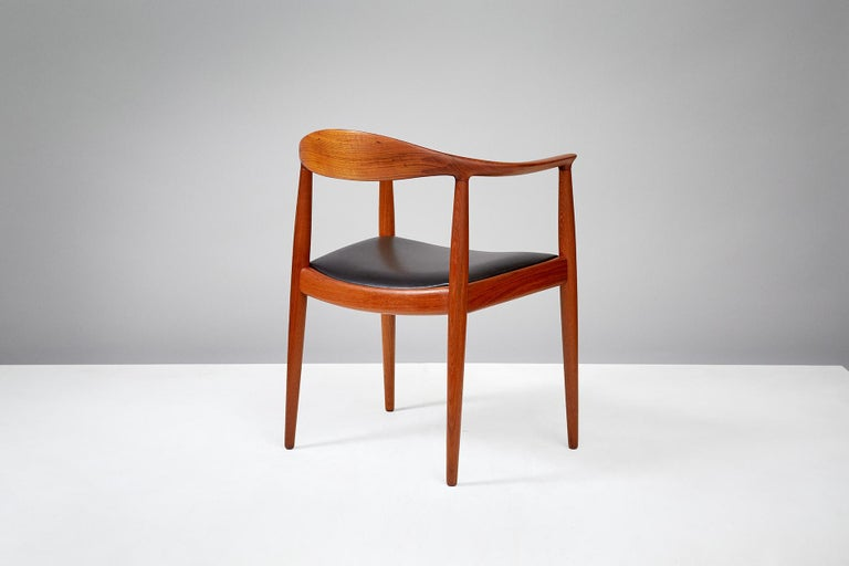 Scandinavian Modern Hans Wegner JH-503 Chair, Teak For Sale
