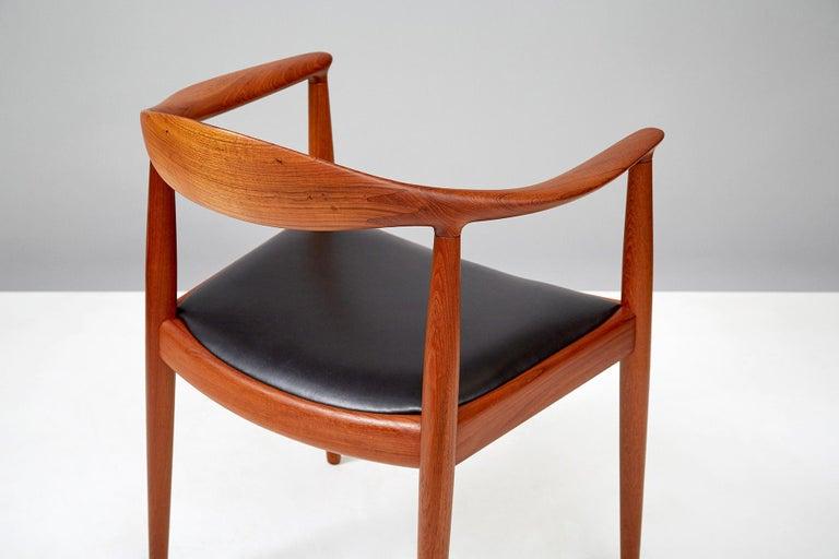 Mid-20th Century Hans Wegner JH-503 Chair, Teak For Sale