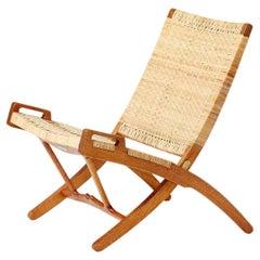 Hans Wegner JH-512 Oak Folding Chair, 1949