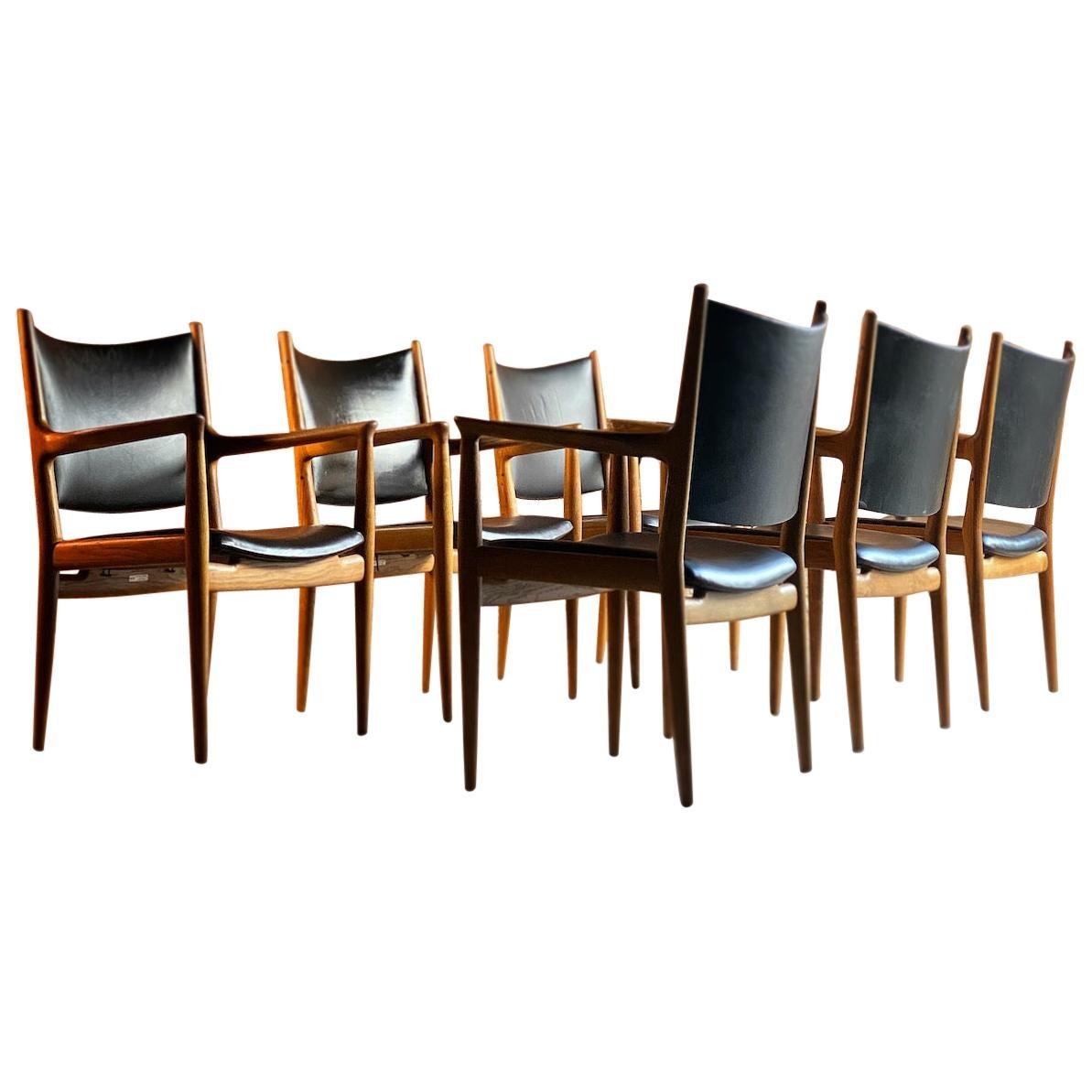 Hans Wegner JH713 Conference Lounge Chair Johannes Hansen, Denmark, 1957