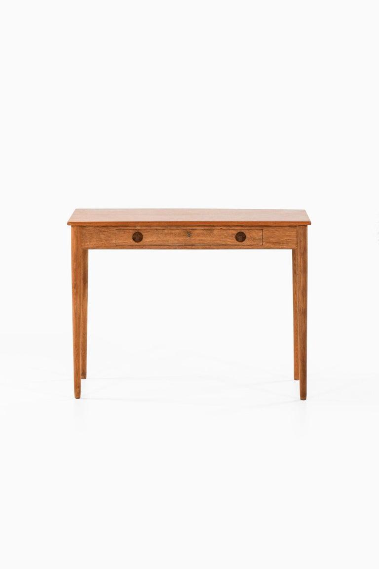 Rare ladies desk designed by Hans Wegner. Produced by Ry Møbler in Denmark.