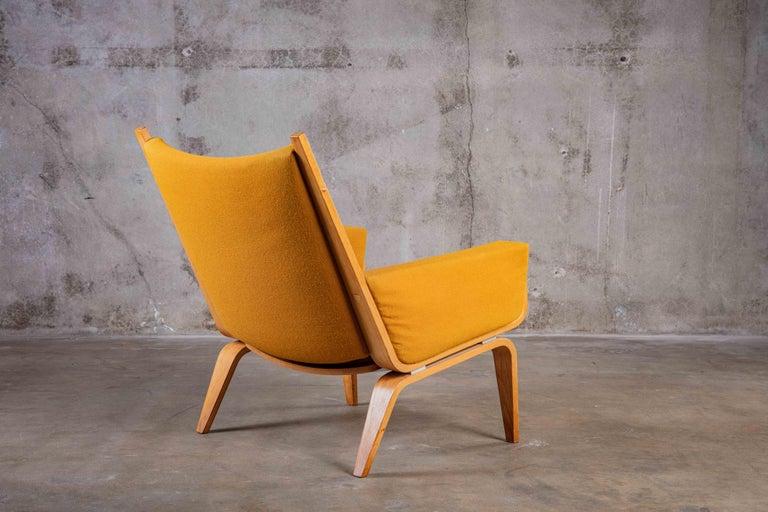 Danish Hans Wegner Lounge Chair For Sale