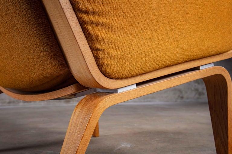 Mid-20th Century Hans Wegner Lounge Chair For Sale