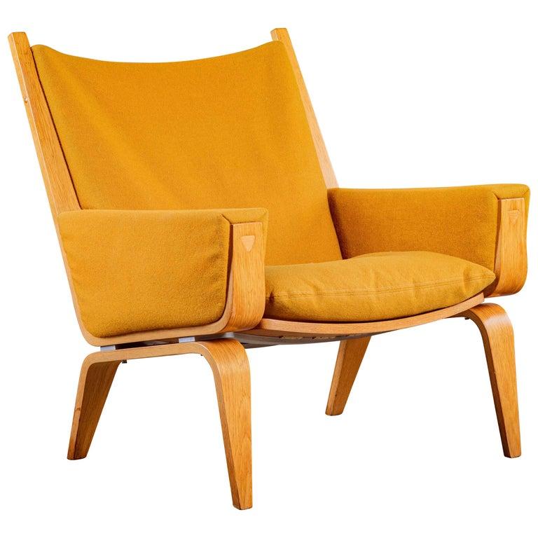 Hans Wegner Lounge Chair For Sale